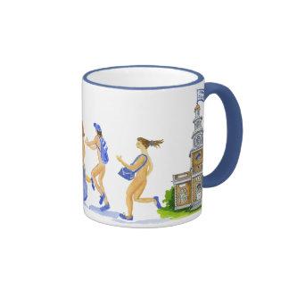 Hamilton College runners Mug