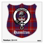 Hamilton Crest Badge Wall Decal