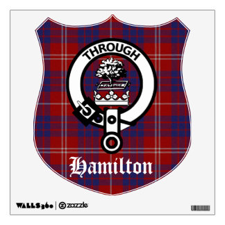 Hamilton Crest Badge Wall Decal