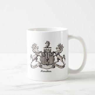 HAMILTON FAMILY CREST COFFEE MUG