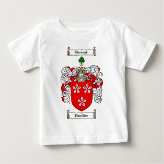 HAMILTON FAMILY CREST -  HAMILTON COAT OF ARMS BABY T-Shirt