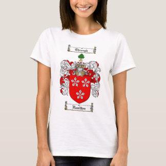 HAMILTON FAMILY CREST -  HAMILTON COAT OF ARMS T-Shirt