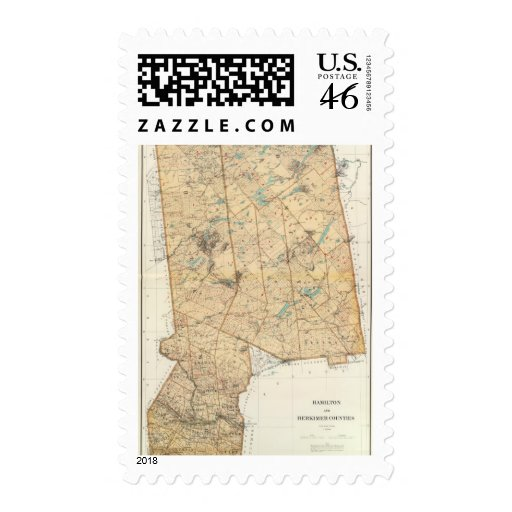 Hamilton, Herkimer counties Postage Stamps