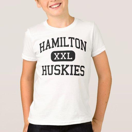 Hamilton huskies high chandler arizona t shirt zazzle for T shirt printing chandler az