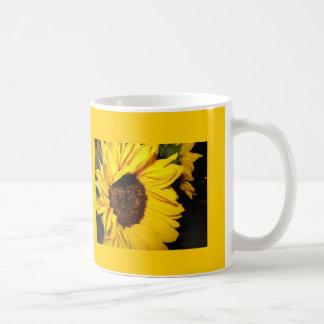 Hamilton, Kansas sunflower mug