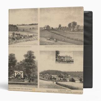 Hamilton, Landes, Yates residences, Horseshoe Farm 3 Ring Binder