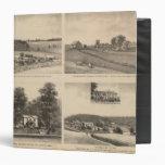 Hamilton, Landes, Yates residences, Horseshoe Farm Binders