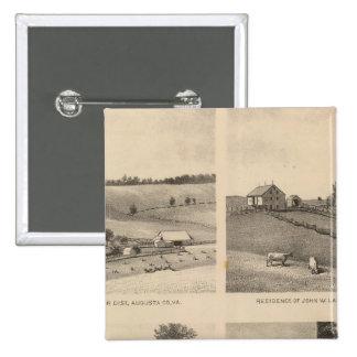Hamilton, Landes, Yates residences, Horseshoe Farm Button