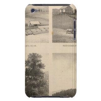 Hamilton, Landes, Yates residences, Horseshoe Farm iPod Touch Cover