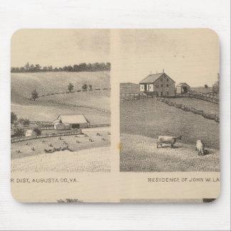 Hamilton, Landes, Yates residences, Horseshoe Farm Mouse Pad