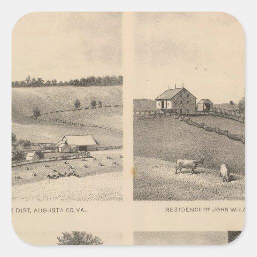 Hamilton, Landes, Yates residences, Horseshoe Farm Sticker