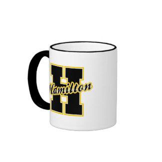 Hamilton Letter Ringer Coffee Mug