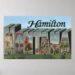 Hamilton, Montana - escenas grandes de la letra Poster