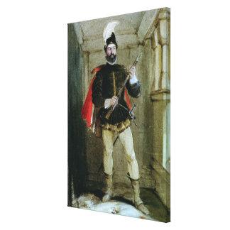 Hamilton of Bothwellhaugh Stretched Canvas Print