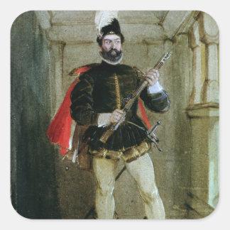 Hamilton of Bothwellhaugh Square Sticker