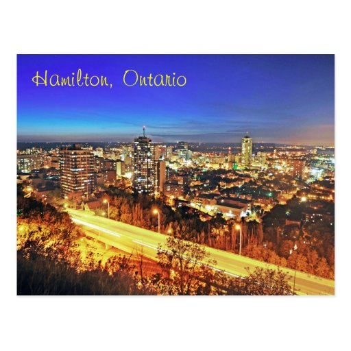 Hamilton, Ontario, Canadá Postal