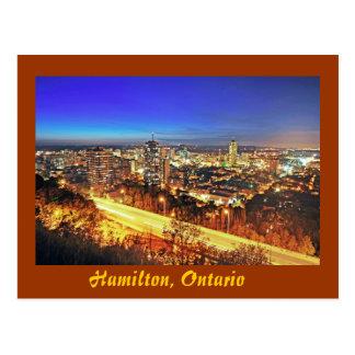 Hamilton Ontario Canada Post Card