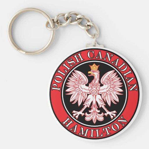 Hamilton Polish Canadian Eagle Key Chains