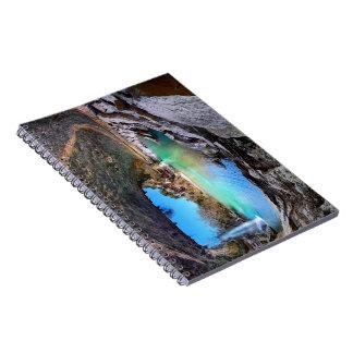 Hamilton Pool - Austin Texas Spiral Notebook