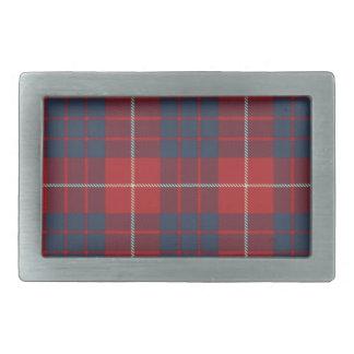 Hamilton Scottish Tartan Belt Buckle