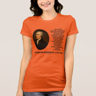 Hamilton System Not Be Perfect A Good One Quote T-Shirt