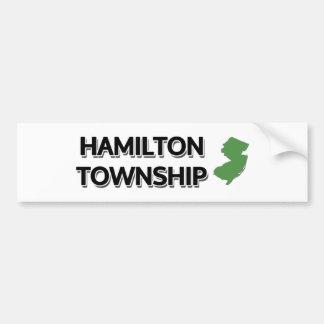 Hamilton Township, New Jersey Bumper Sticker
