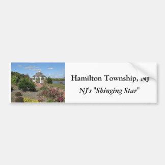 Hamilton Township, NJ Car Bumper Sticker