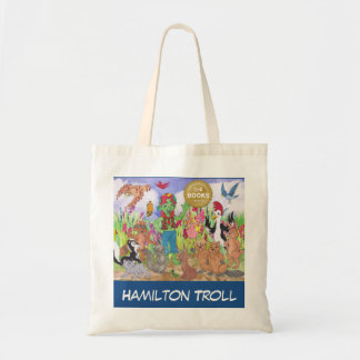 Hamilton Troll & Friends Tote Bag