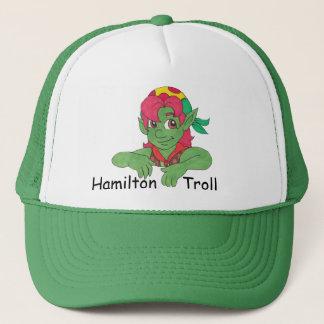 Hamilton Troll Green Baseball Cap