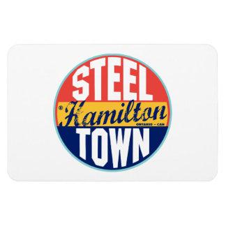Hamilton Vintage Label Rectangular Photo Magnet