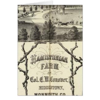 Hamiltonian Farm in Middletown, NJ Card