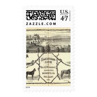 Hamiltonian Farm in Middletown, NJ Postage