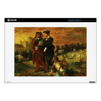"""Hamlet and Horatio in the Cemetery, 1859 (oil on c Skin For 15"""" Laptop"""