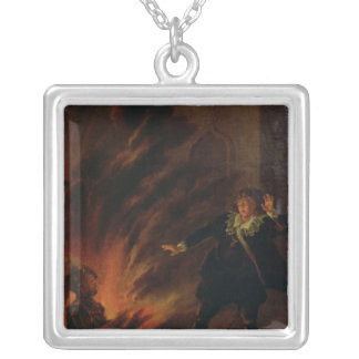 Hamlet and the Ghost of his Father Necklaces