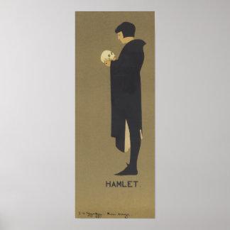 Hamlet Art Nouveau Posters