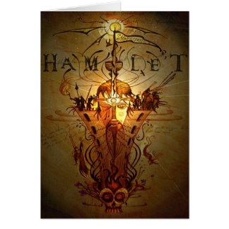 'Hamlet' greetings card