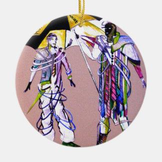 hamlet & horatio go to American Ceramic Ornament