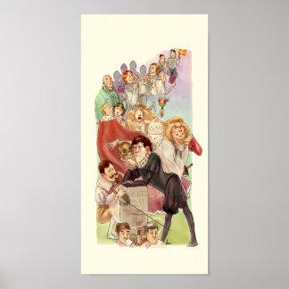 Hamlet - impresión original del arte póster