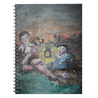 Hamlet in the Graveyard Notebook