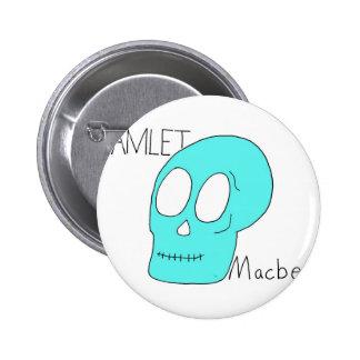 Hamlet Macbeth Pin