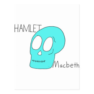 Hamlet Macbeth Post Cards