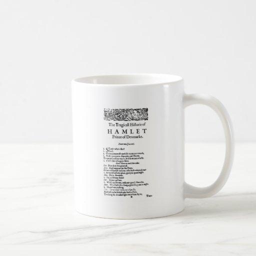 Hamlet Original Script Coffee Mug