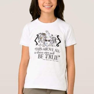"Hamlet ""... own self be true ..."" Quote T-Shirt"