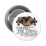 Hamlet Play Quote 2 Inch Round Button