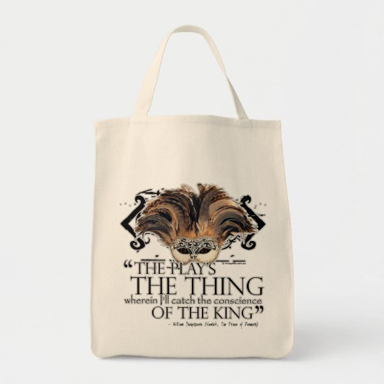Hamlet Play Quote Tote Bag