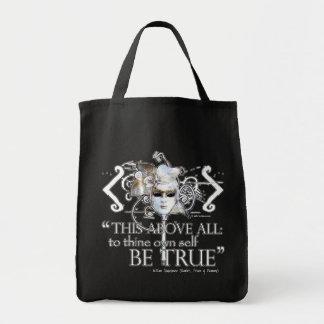 Hamlet … poseer a uno mismo sea… cita verdadera bolsa