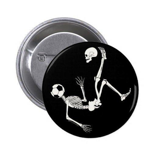 Hamlet Soccer Skull Buttons