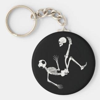 Hamlet Soccer Skull Key Chain