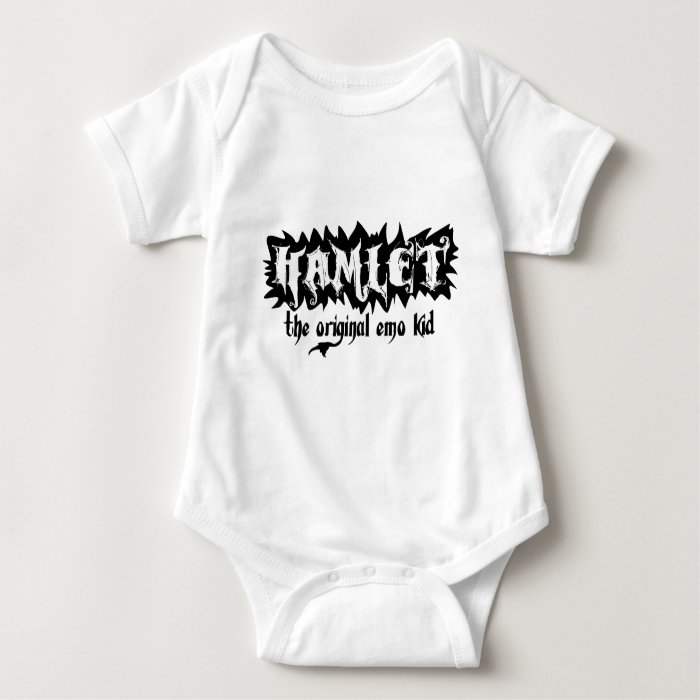 Hamlet - The Original Emo Kid Baby Bodysuit