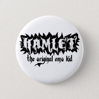 Hamlet - The Original Emo Kid Pinback Button